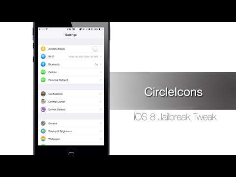 CircleIcons allows you to change your Settings app Icons - iPhone Hacks