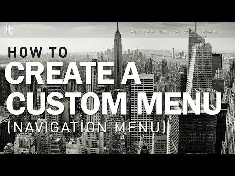 How to Create Custom Menus (Navigation Menu) - [Ultra Theme]