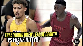 Trae Young Drops CRAZY 31 Points & GOES AT IT vs Drew League MVP!! Montrezl Harrell Drops 46!!