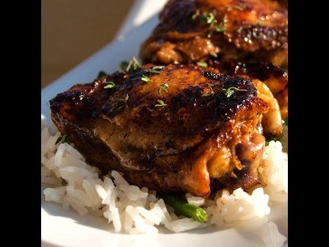Pan Fried Balsamic Vinegar Chicken Thighs Recipe