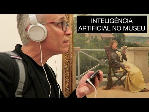 Inteligência artificial no museu