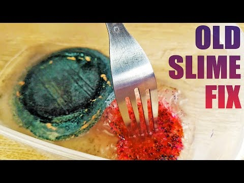 Fixing Very Dried Old Slime - 2 Days
