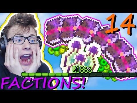USiNG 1,000,000 XP ON CUSTOM ENCHANTS! (Minecraft District Factions) Ep. 14