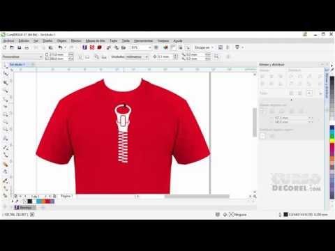 Curso Corel Draw Como Criar Camisa de Time Tutorial
