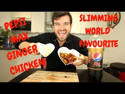 Slimming World Pepsi Max Chicken - Ginger -  Slimming World Recipe