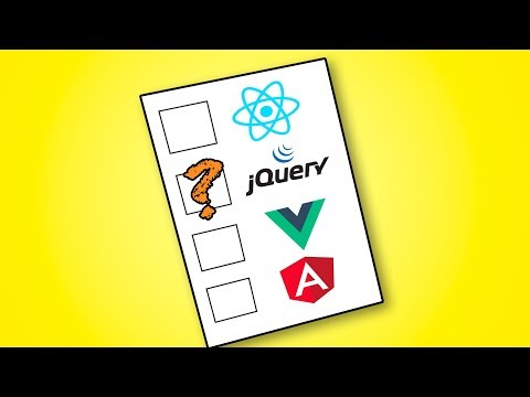 jQuery vs Vue, React and Angular
