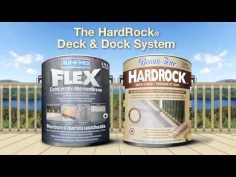 HardRock® Deck & Dock -- Installation Instructions
