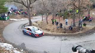 Rallye Monte-Carlo 2018 shakedown