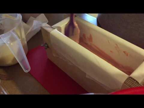 Making Cherie Artisan Soap, Handmade Soap, Gradient Soap, Lick Me All Over Handmade Soap (episode 9)
