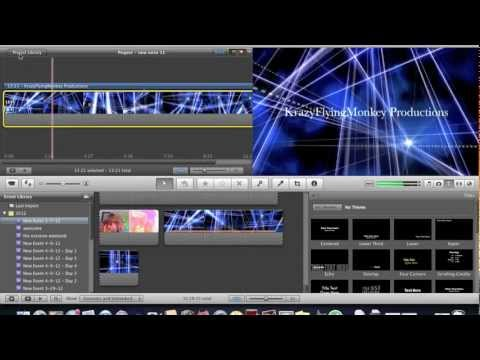 How to make a Cool Intro with iMovie or Windows Movie Maker