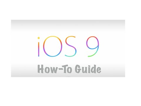 iOS 9 Tips & Tricks (How to use) HD