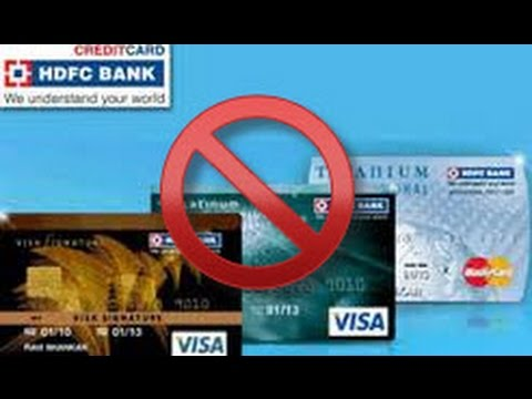 How to Hotlist the lost or stolen credit card of HDFC Bank