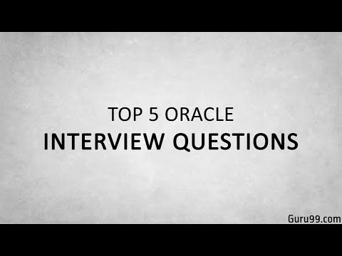 Top 5 Oracle Interview Questions and Answers