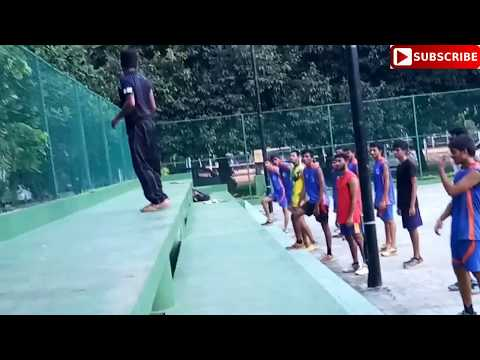 VOLLEYBALL ||Stepping Exercise for the development of  jump||