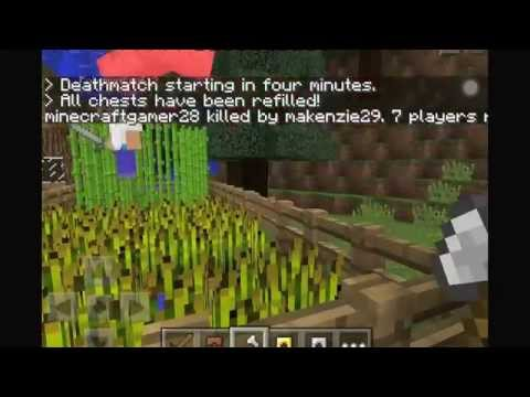 Let's Play Minecraft Pocket Edition - Survival Games [German] [Lifeboat] [0.9.5]