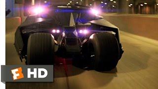 Batman Begins (4/6) Movie CLIP - Tumbler Chase (2005) HD