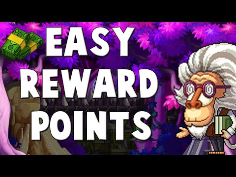 [MapleStory] Quick Tip - How To Get Your Daily Reward Points (3k)