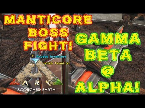 Ark Chronicles Server - Scorched Earth #7 - Manticore Arena!