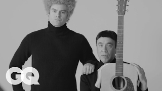 Fred Armisen and Bill Hader Tell the Very True History of Simon and Garfunkel   GQ