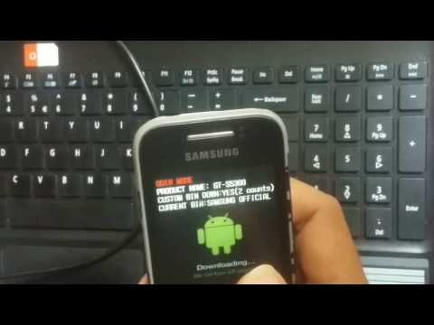 HOW TO INSTALL CWM RECOVERY IN SAMSUNG GALAXY Y (GT-S5360)