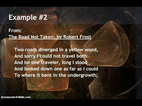 Examples of Imagery in Poetry