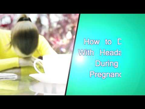 How to Deal With Headaches During Pregnancy