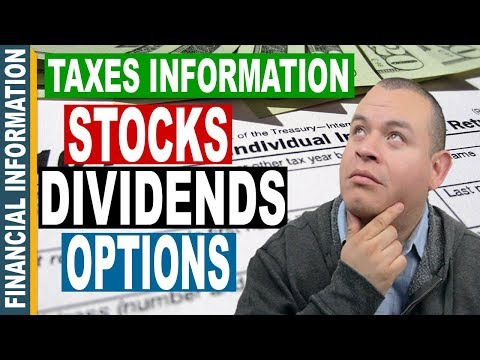 Tax Information for Stock Market Investors | Stocks, Options, and Dividends