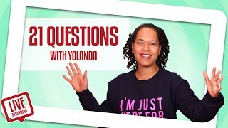 Yolanda Gampp Plays A SWEET Game Of 21 Questions | How To Cake It