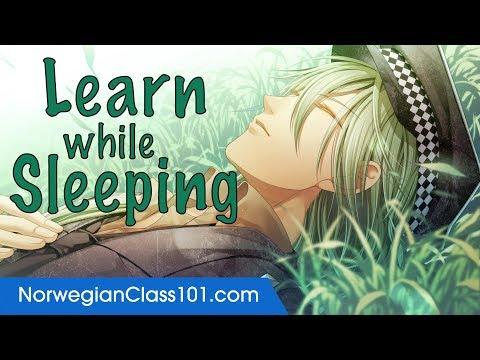 Learn Norwegian While Sleeping 8 Hours - Learn ALL Basic Phrases