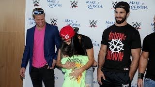 Superstars put smiles on Make-A-Wish kids