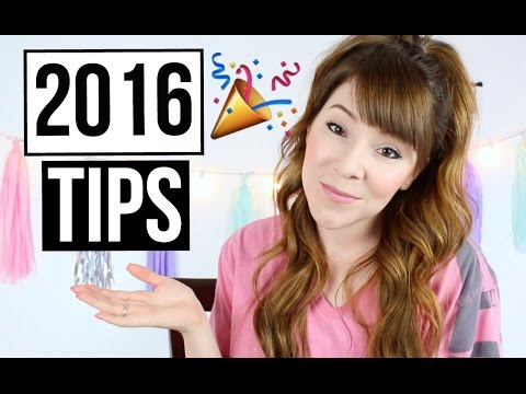 New Year Tips 2016 | GIVEAWAY CLOSED