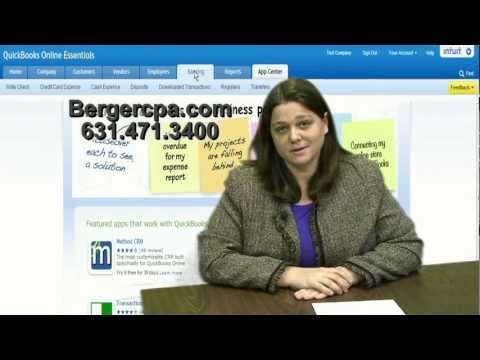 QuickBooks quick tip -- Preparing reports -- Michael J. Berger and Company CPA