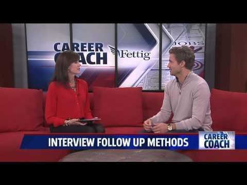 Career Coach on Fox 17 - Interview Follow-up