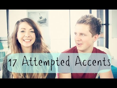 17 Attempted Accents | Zoella