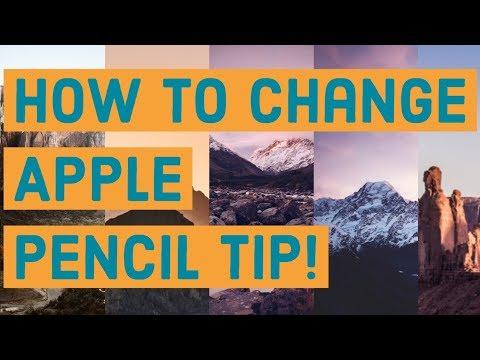 iPad Pro 2018/iOS 12   How to change Apple Pencil tip