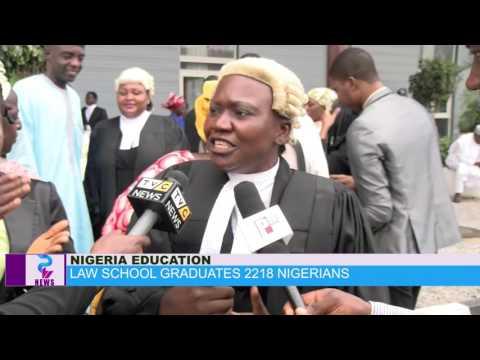 LAW SCHOOL GRADUATES 2218 NIGERIANS