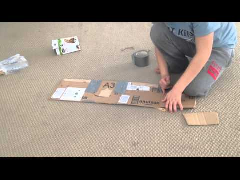 Part one – how to build a homemade cardboard ship