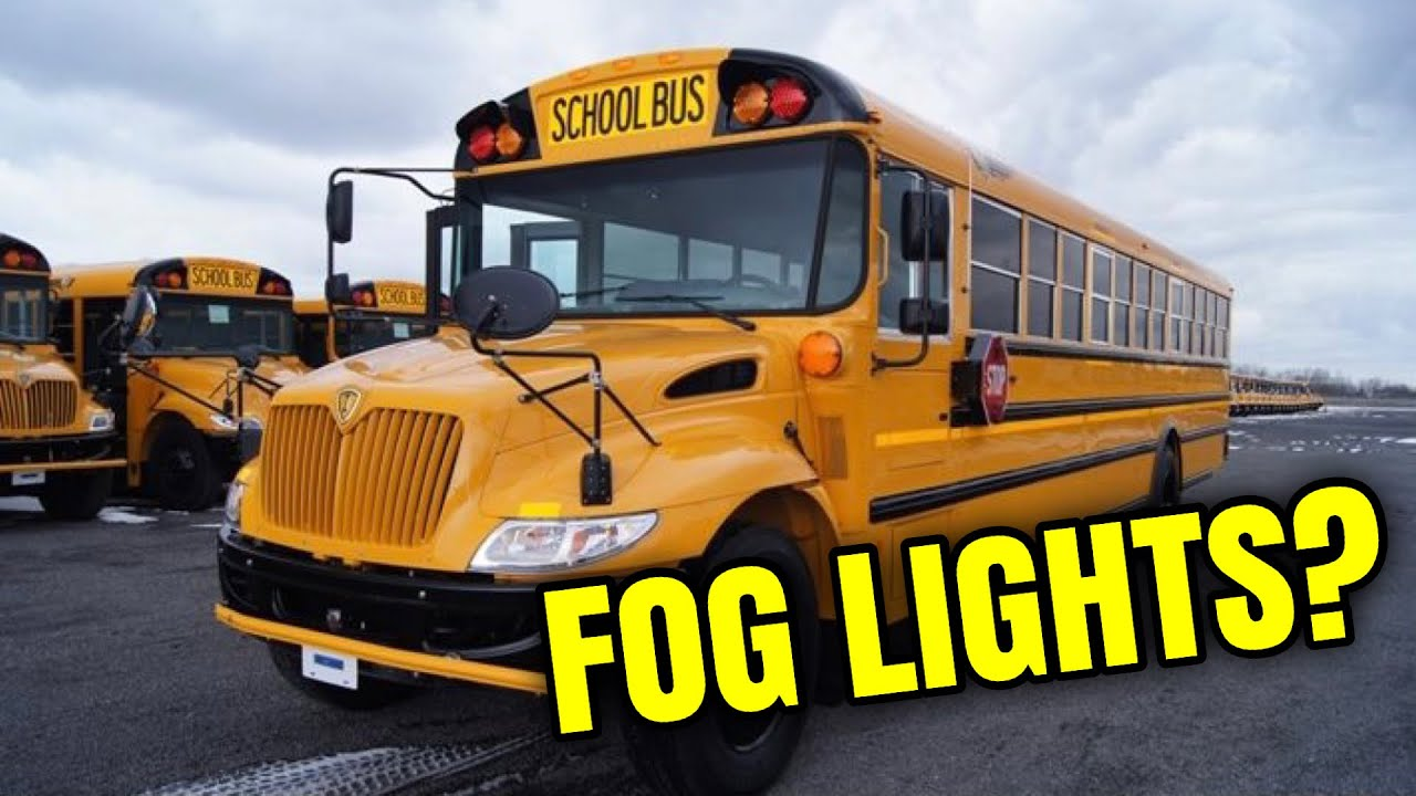 Why Don't School Buses Have Fog Lights?