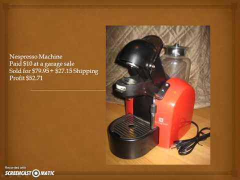 Make Money Selling Small Kitchen Appliances on eBay ~ Great Profit
