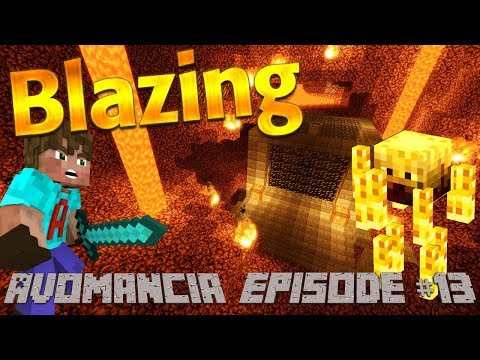 Minecraft: How to Make a Blaze Farm in Minecraft Survival | Lets Play Adventure Avomancia Ep13