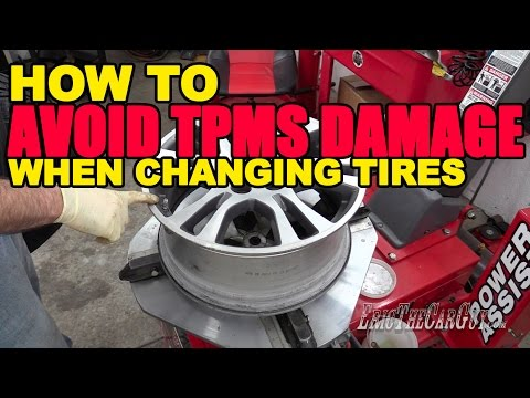 How To Avoid TPMS Damage When Changing Tires