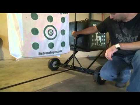 How to Build an Archery Target Stand, DIY.