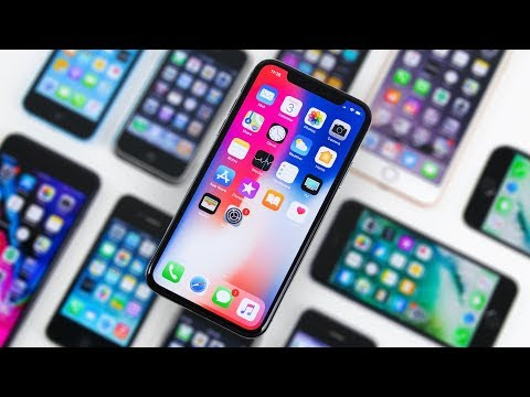 iPhone X vs Every iPhone Design! - 10 Years of iPhone