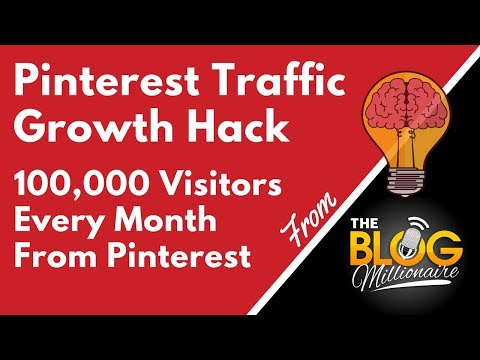 Pinterest Traffic Growth Hack - 100k Visitors a Month from Pinterest SEO and Pinterest Rich Pins