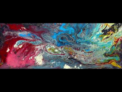Pouring acrylic ART medium