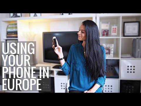 How to Use Your Phone While Traveling Europe