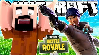 If Fortnite Took Over Minecraft