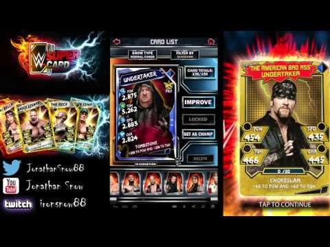 WWE Supercard Season 2 #27.5 Finishing up before my computer quit on me lol
