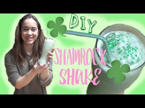 DIY McDonald's Shamrock Shake! Mint Milkshake Recipe | Megilee