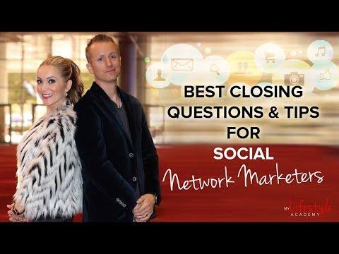 Network Marketing Training: Best Closing Questions & Scripts